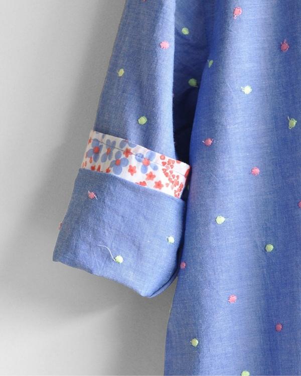Embroidered kurta shirt 3