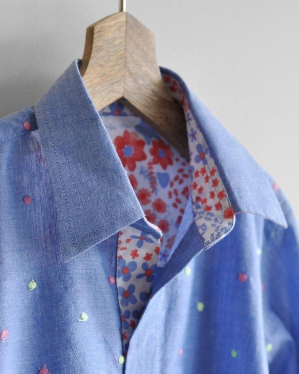 Embroidered kurta shirt 2