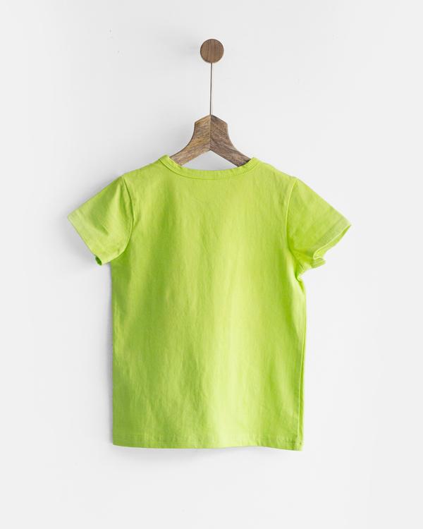Pluie green happy pom pom tee 3