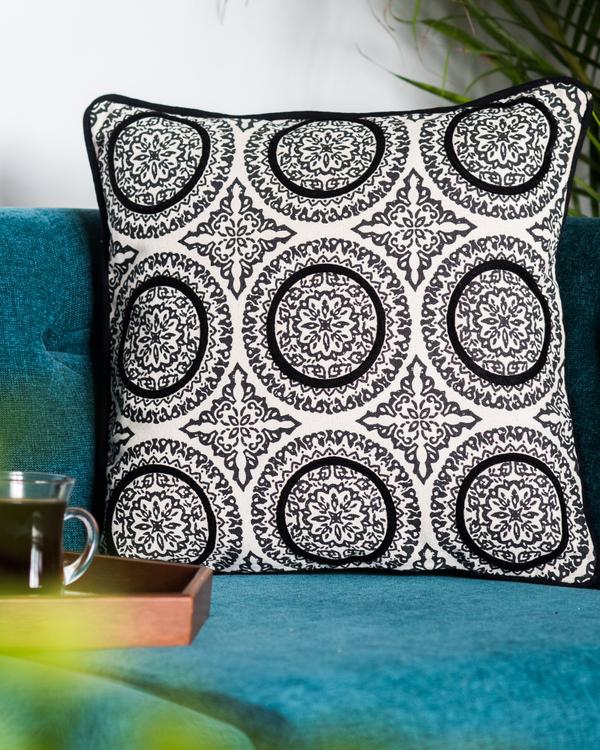 Denmark circles cushion cover 1