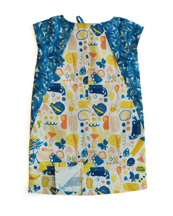 Scridoodle printed shift dress 2