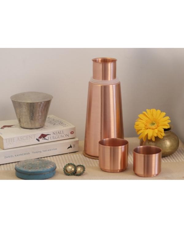 Copper lean carafe 2
