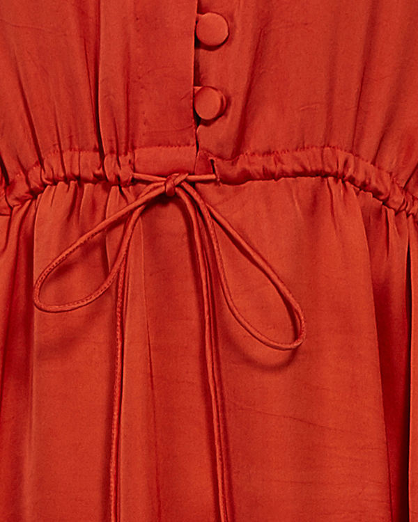 Orange tunic with kimono sleeves 3