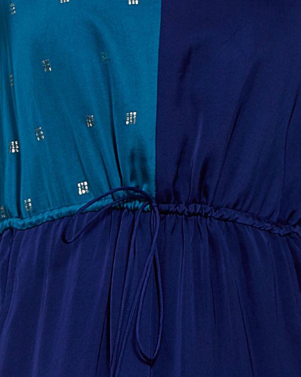 Blue colored block tunic 3