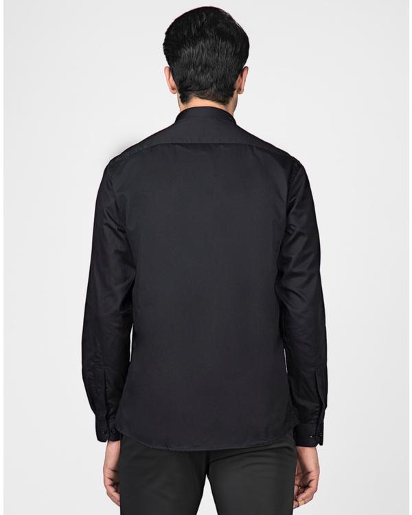 Black and grey block paneled shirt 3