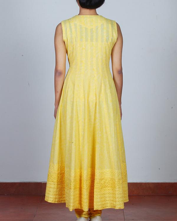 Set of Chamomile Yellow Anarkali & Churidar 1
