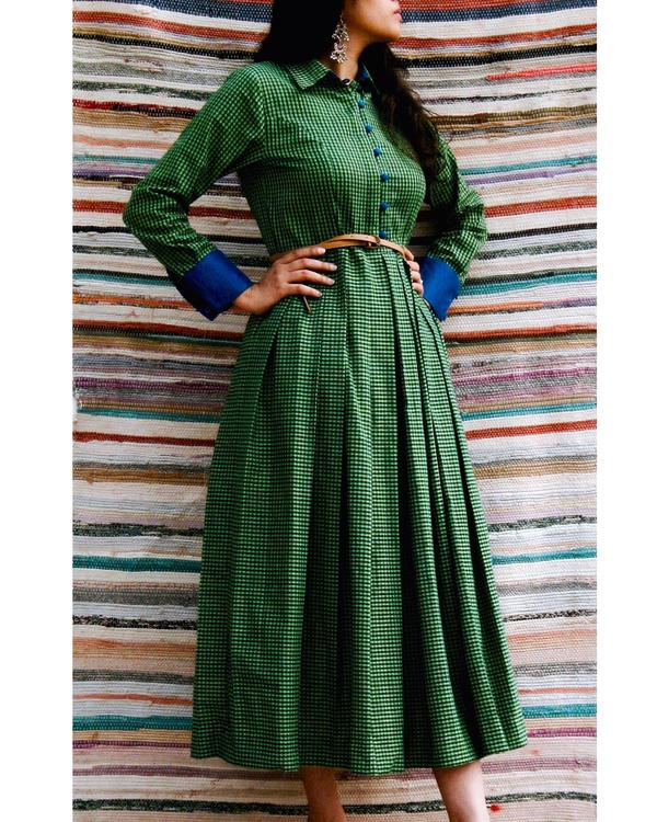 Emerald midi dress 2