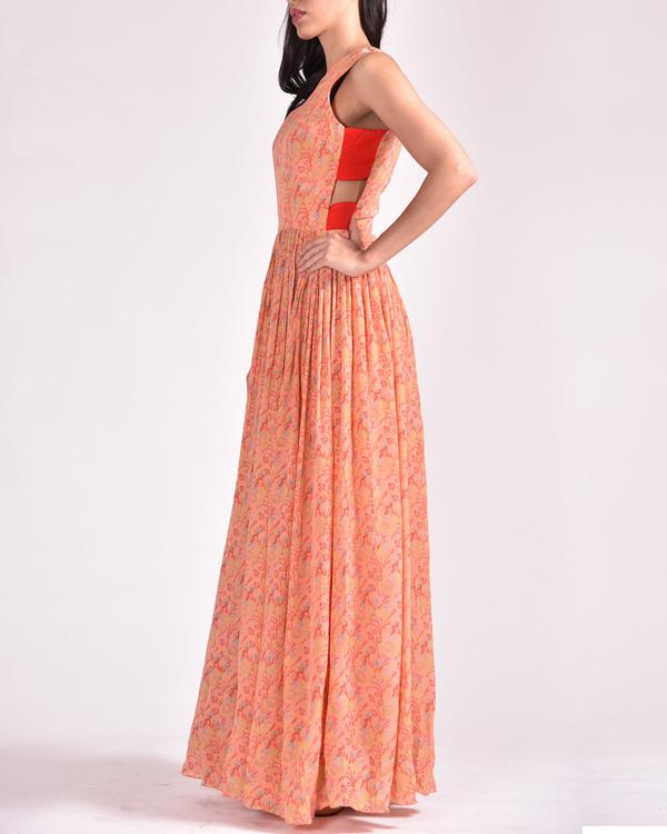 Moroccan maxi dress 1