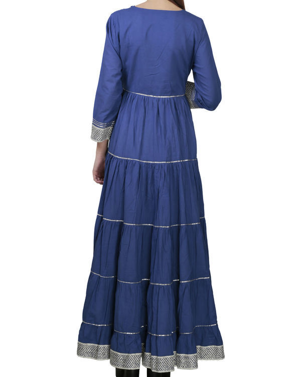 Royal blue angrakha with palazzo 1