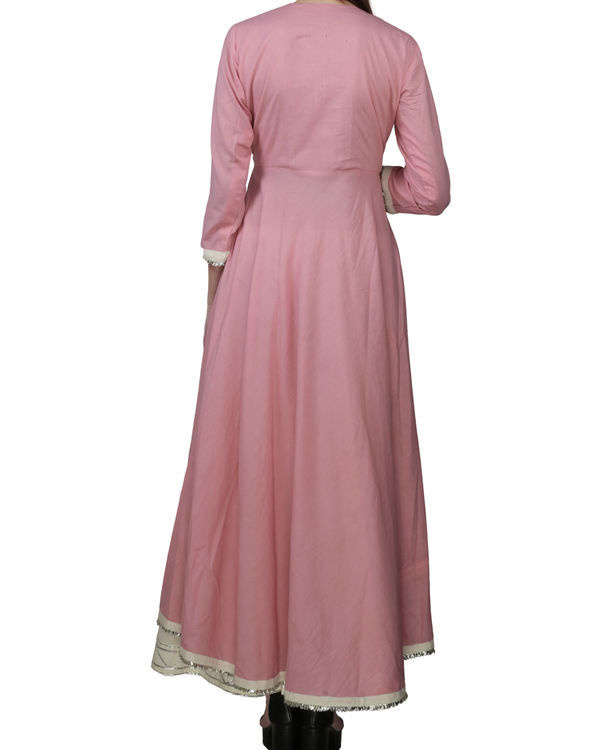 Rose pink tunic with palazzo 1