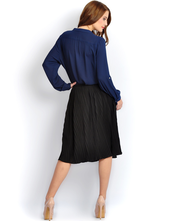 Solid black skirt 1