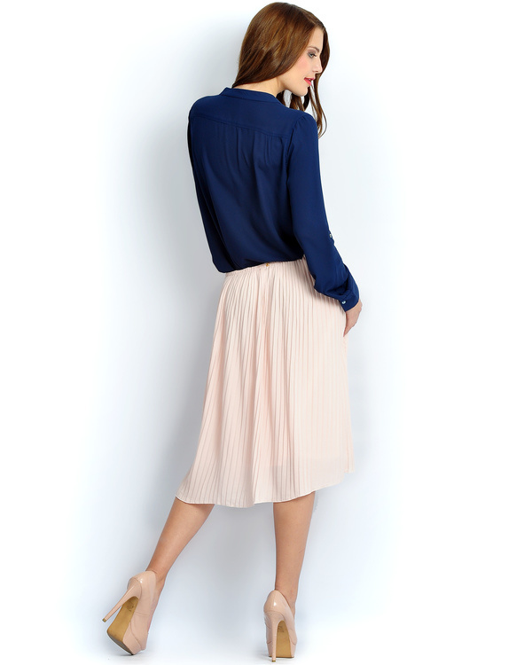 Solid blush skirt 2
