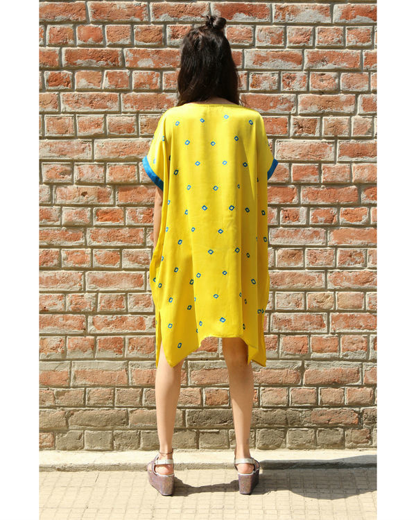 Yellow rectangular tunic 3