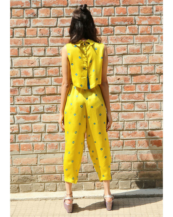 Yellow baloon pants 2