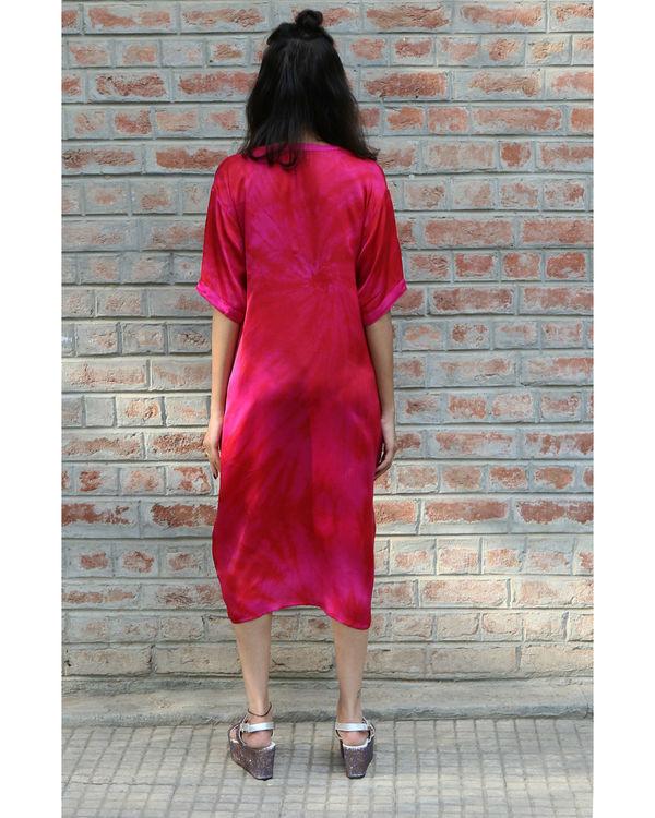 Pink midi dress 2