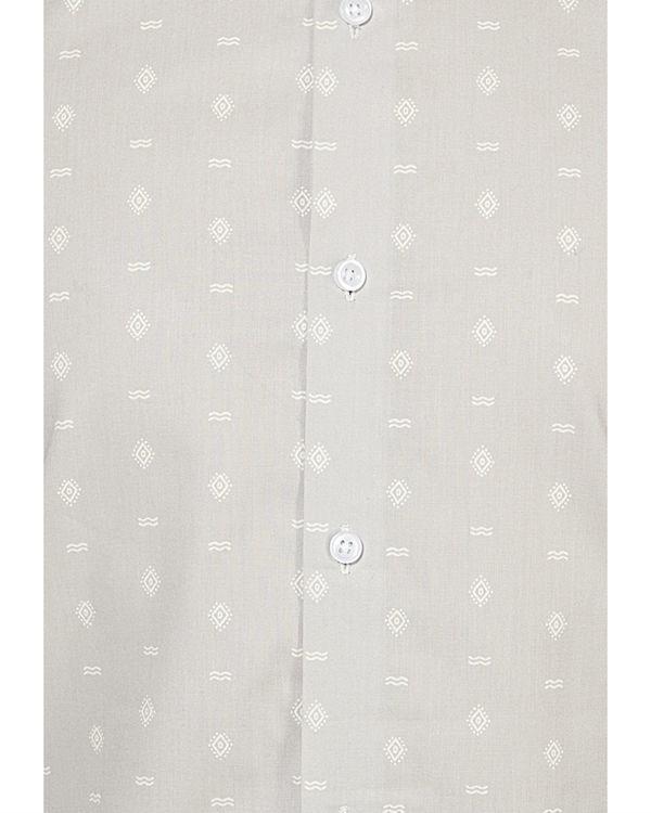 Grey tribal printed casual shirt 2