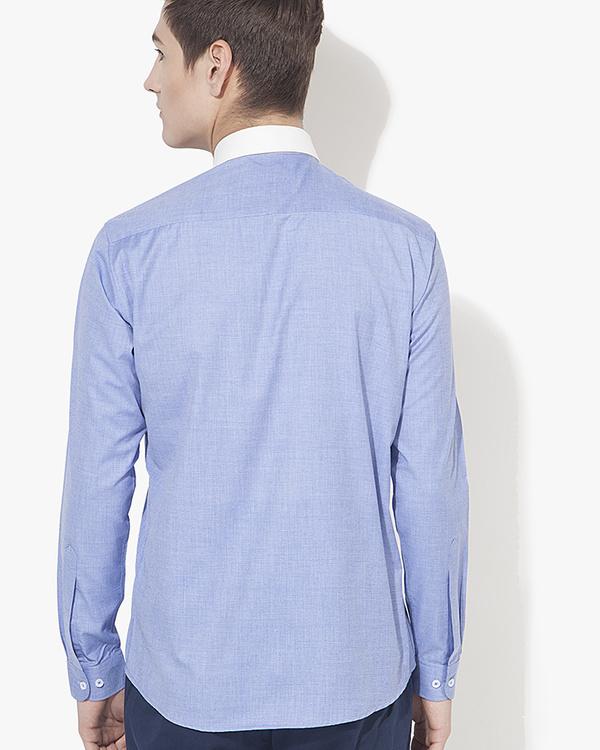 Executive collar solid casual shirt 1