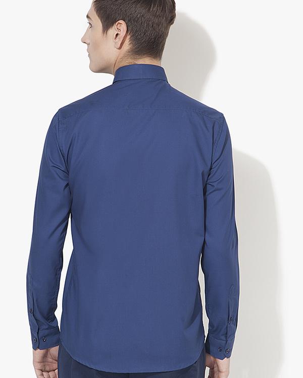 Pink pocket panel casual shirt 1