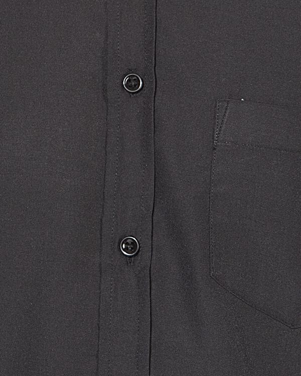 Black & white stripe panel casual shirt 2