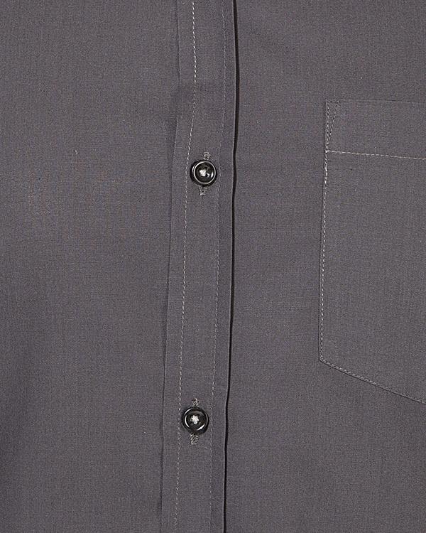 Grey solid casual shirt 2