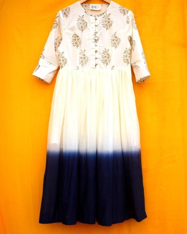 Ombre midi dress 1