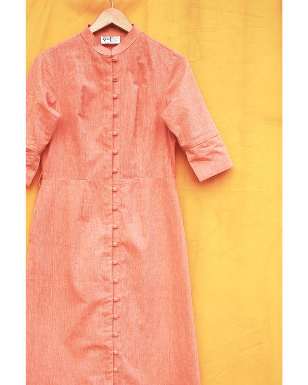 Khadi shirt dress 1