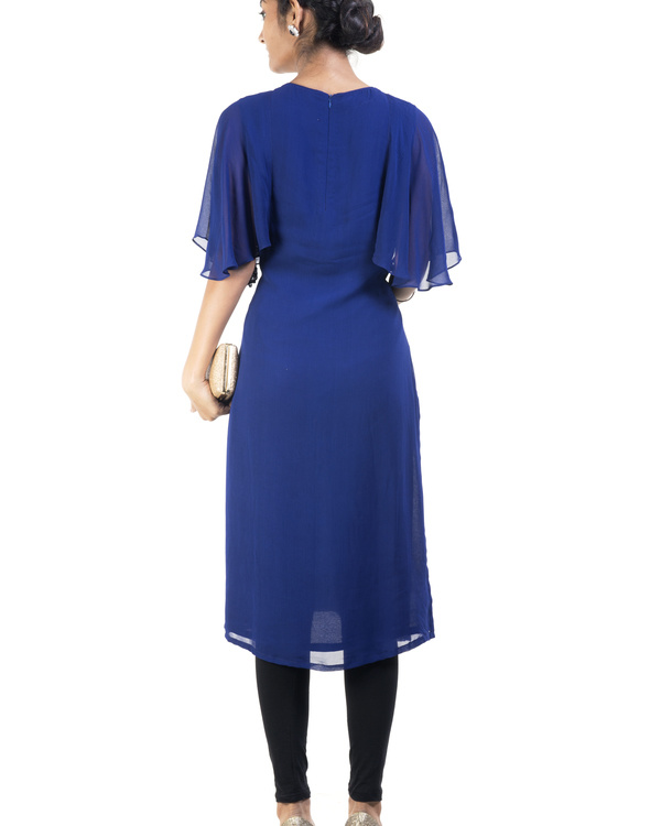 Blue embroidered tunic 1