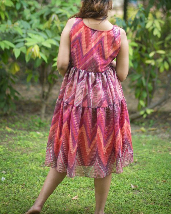 layered maternity dress 1