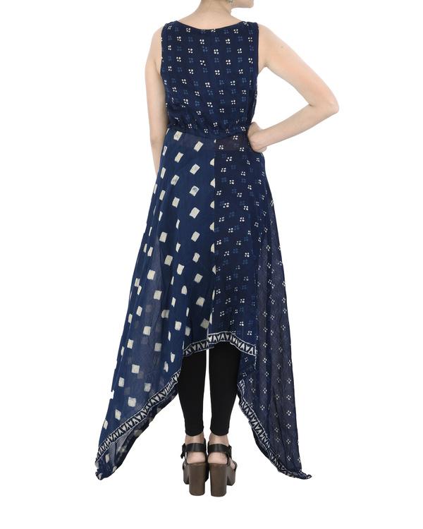 Asymmetric Indigo dress 4