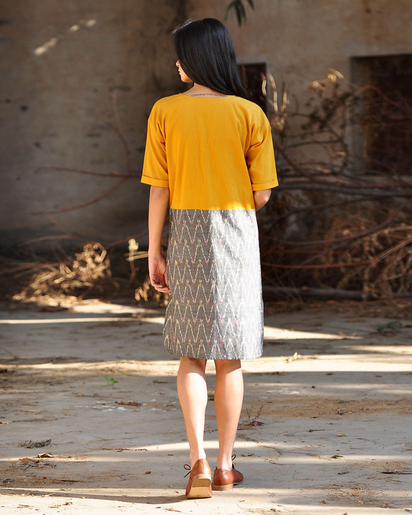 Marigold shift dress 2