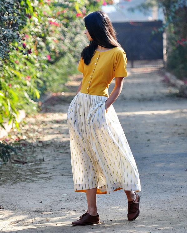 Marigold shift dress 1