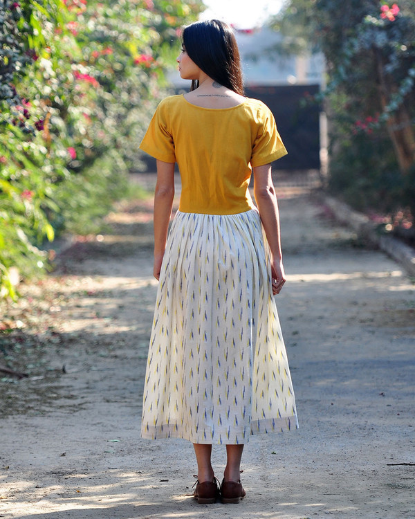 Marigold shift dress 2