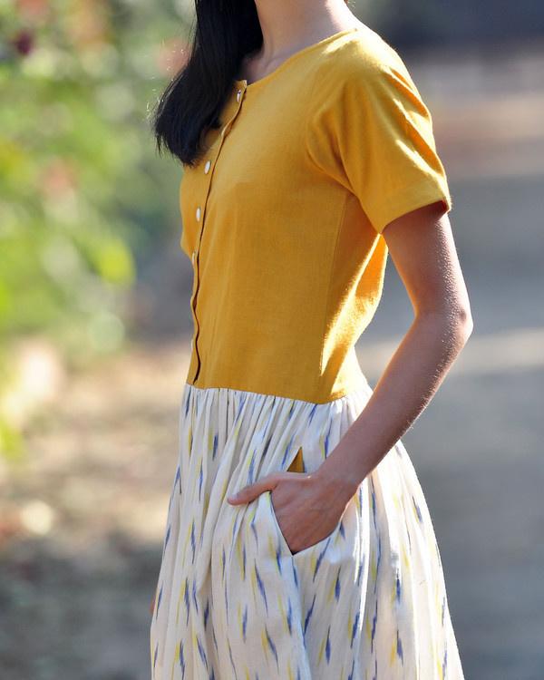 Marigold shift dress 3