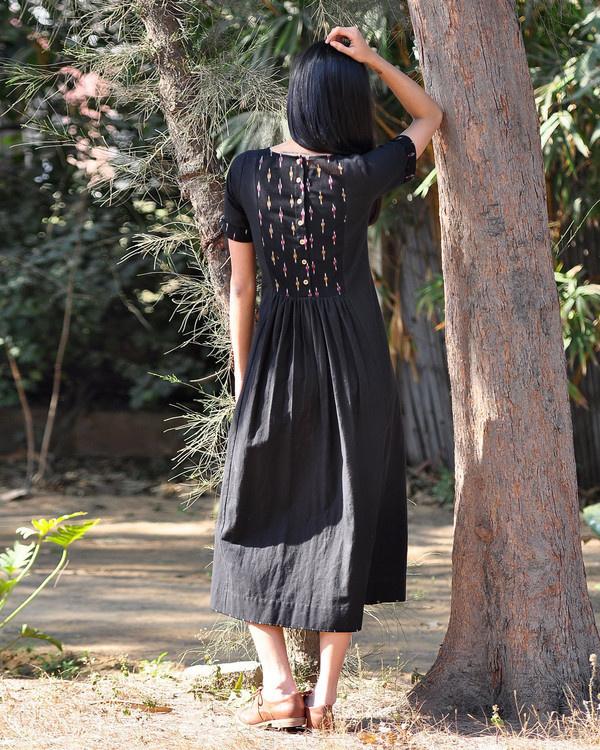 Black boho maxi 2