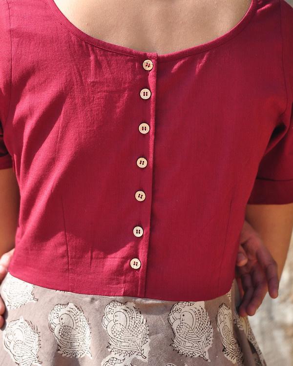 Easy day swing dress 2