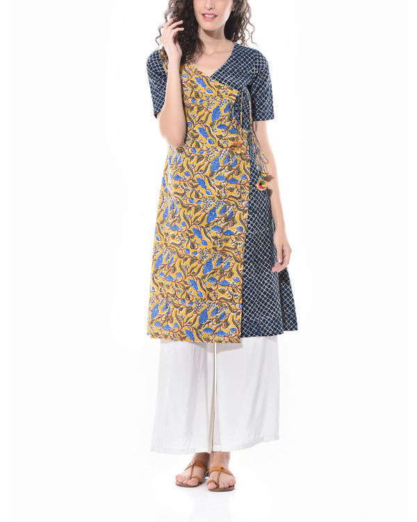 Angrakha style dress 2
