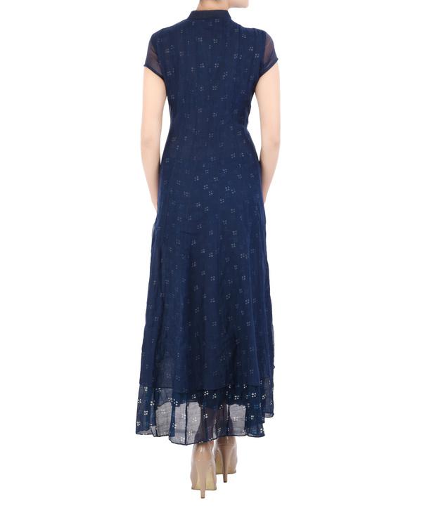Layered Indigo dress 1