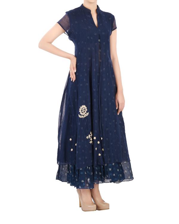Layered Indigo dress 2
