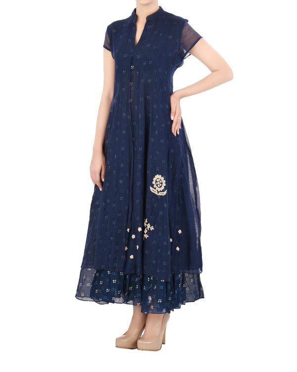 Layered Indigo dress 3