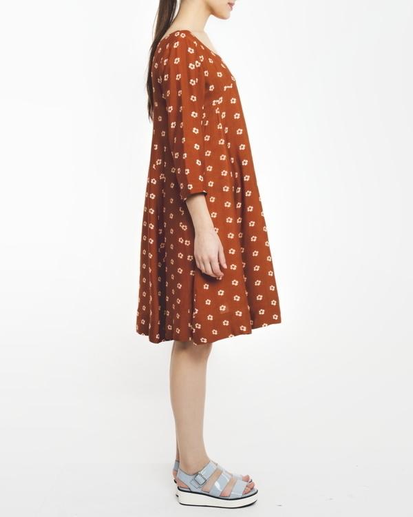 Rust dress 1