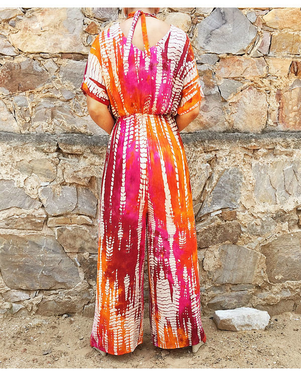 Multi color jumpsuit 1