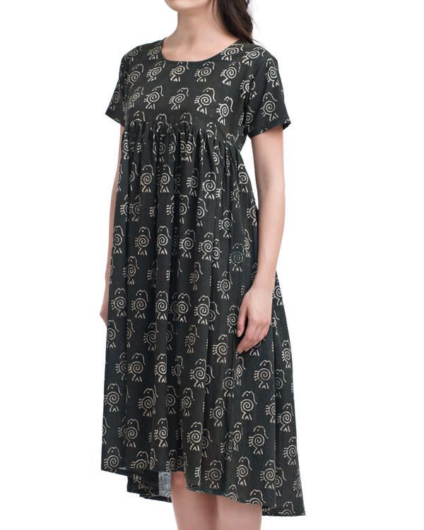 Charcoal fish dress 1