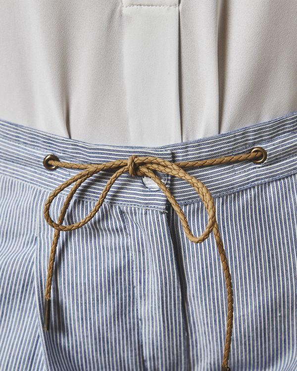Pinstripe nautical pants 2