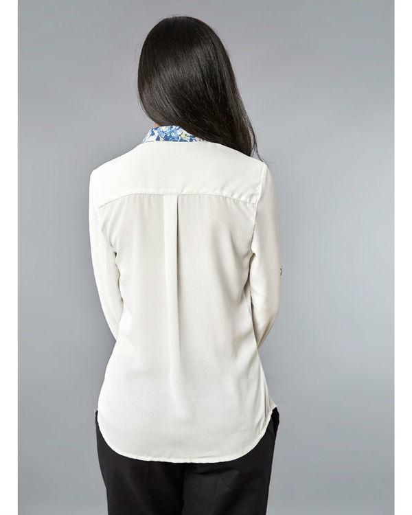 White indigo shirt 1