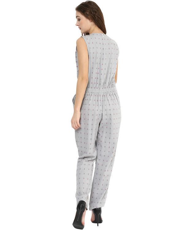 Grey summer jumpsuit 2