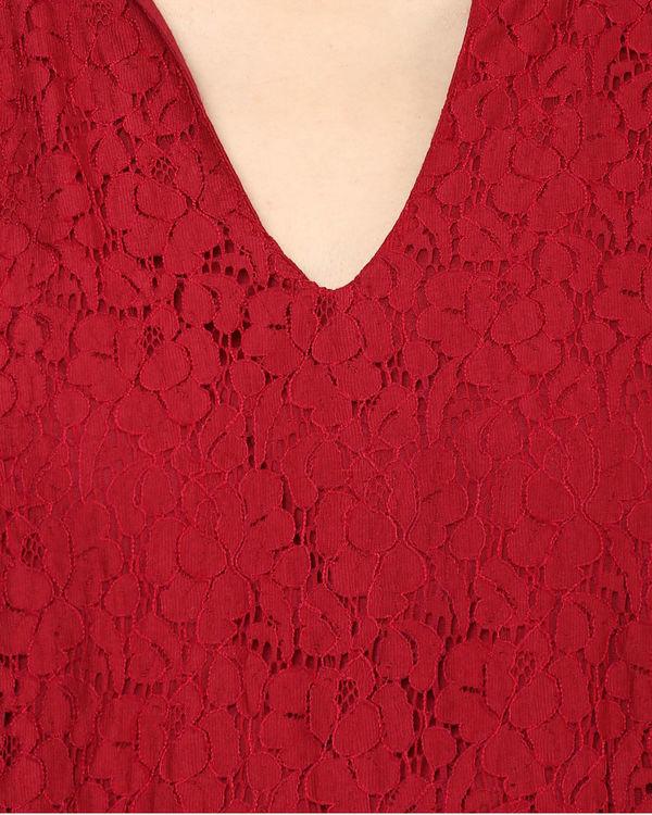 Marsala lace dress 2