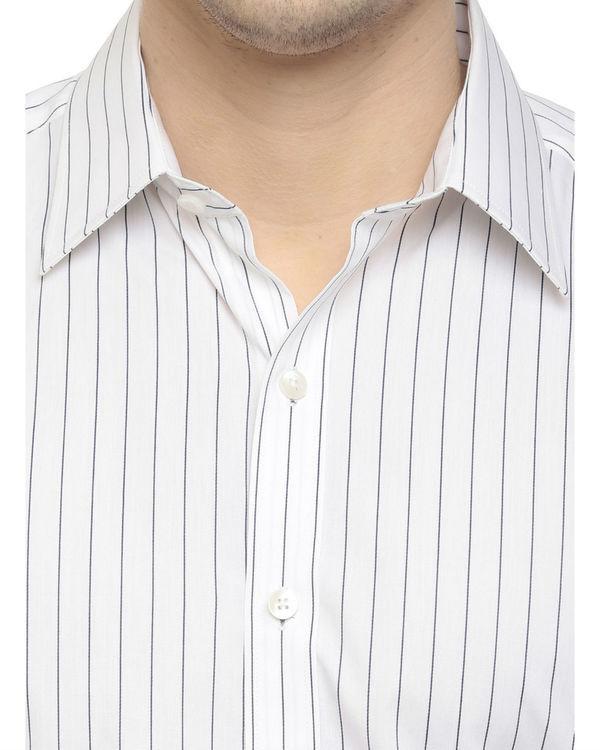 Pinstripe shirt 2