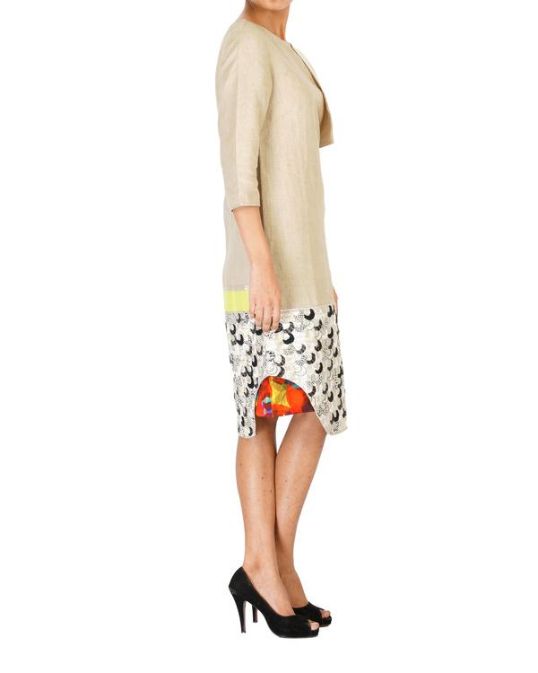 Linen embroidered slip dress 2