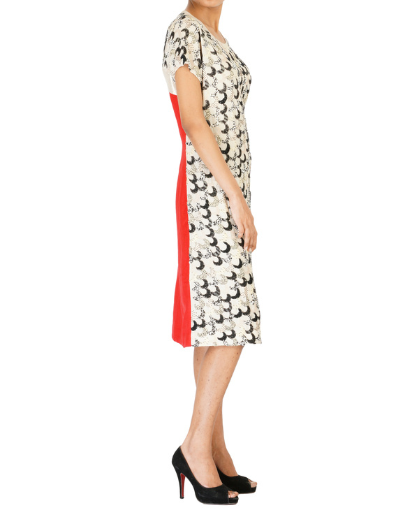 Georgette/linen full embroidered dress 2
