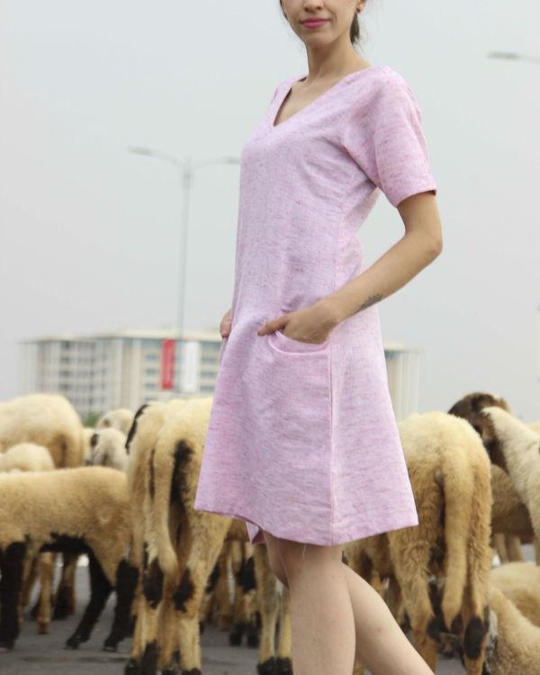Pristine pink straight dress 1